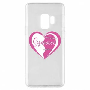 Samsung S9 Case Sosnowiec. My city is the best
