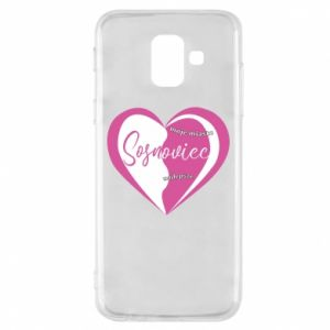 Samsung A6 2018 Case Sosnowiec. My city is the best