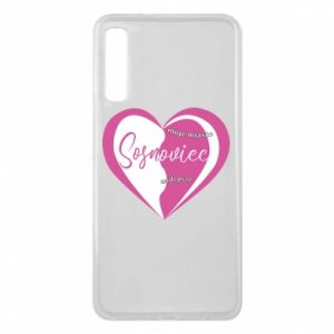 Samsung A7 2018 Case Sosnowiec. My city is the best