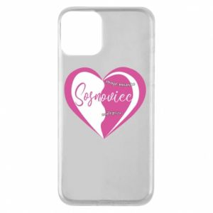 iPhone 11 Case Sosnowiec. My city is the best