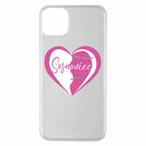iPhone 11 Pro Max Case Sosnowiec. My city is the best