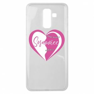 Samsung J8 2018 Case Sosnowiec. My city is the best