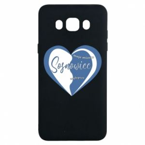 Samsung J7 2016 Case Sosnowiec. My city is the best