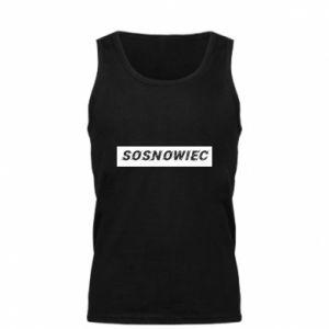Męska koszulka Sosnowiec - PrintSalon