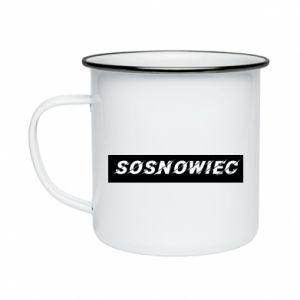 Kubek emaliowane Sosnowiec - PrintSalon