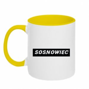 Kubek dwukolorowy Sosnowiec