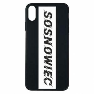 Phone case for iPhone Xs Max Sosnowiec