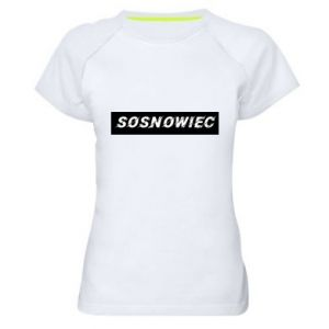 Women's sports t-shirt Sosnowiec