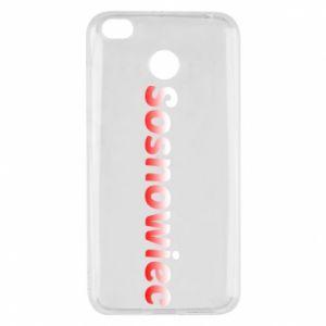 Xiaomi Redmi 4X Case Sosnowiec