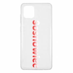 Samsung Note 10 Lite Case Sosnowiec