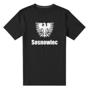 Męska premium koszulka Sosnowiec - PrintSalon