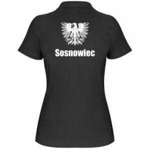 Damska koszulka polo Sosnowiec - PrintSalon