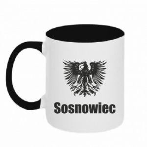 Kubek dwukolorowy Sosnowiec - PrintSalon