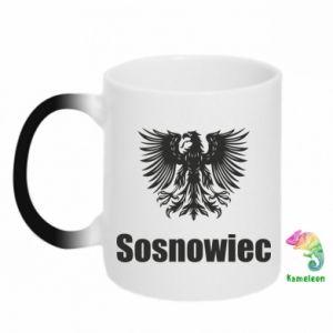 Kubek-kameleon Sosnowiec - PrintSalon