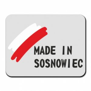 Mouse pad Made in Sosnowiec