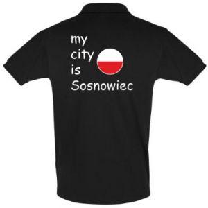 Koszulka Polo My city is Sosnowiec