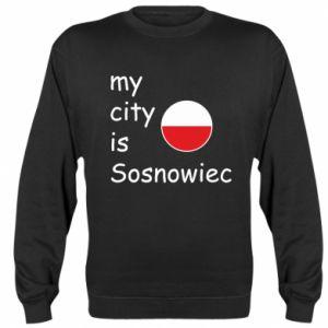 Bluza (raglan) My city is Sosnowiec