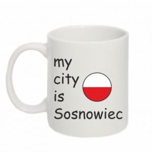 Kubek 330ml My city is Sosnowiec