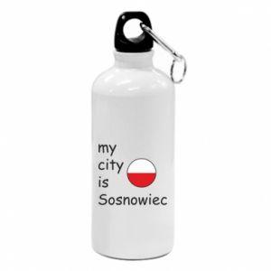 Water bottle My city is Sosnowiec