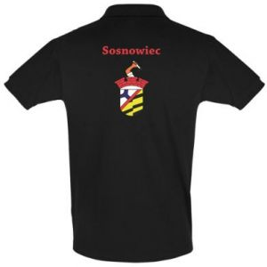 Men's Polo shirt Sosnowiec this is my city