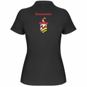Women's Polo shirt Sosnowiec this is my city