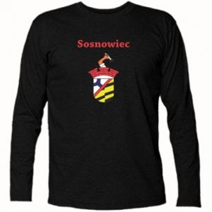 Long Sleeve T-shirt Sosnowiec this is my city