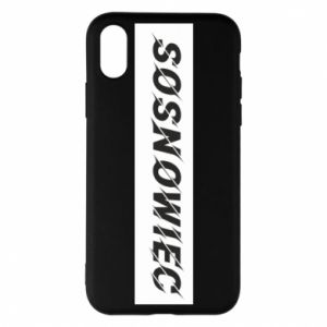 Phone case for iPhone X/Xs Sosnowiec