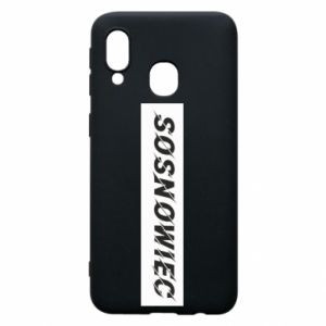Phone case for Samsung A40 Sosnowiec