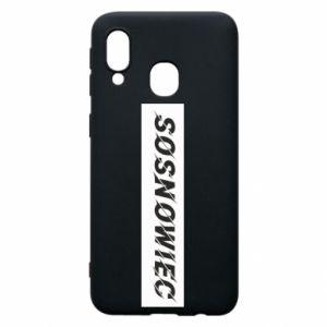 Samsung A40 Case Sosnowiec