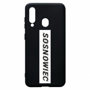 Phone case for Samsung A60 Sosnowiec
