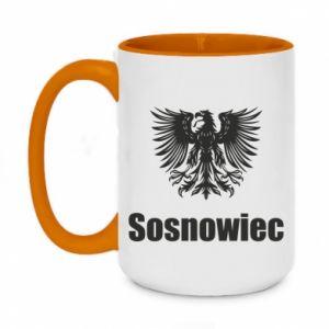 Kubek dwukolorowy 450ml Sosnowiec
