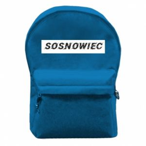 Backpack with front pocket Sosnowiec