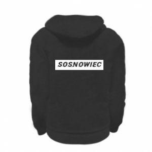 Kid's zipped hoodie % print% Sosnowiec