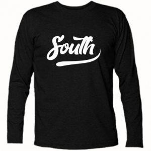 Koszulka z długim rękawem South