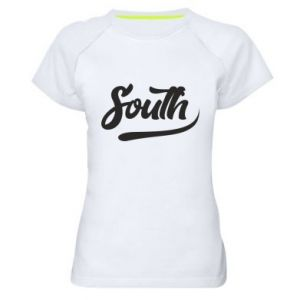 Damska koszulka sportowa South