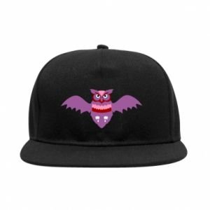 SnapBack Owl bright color