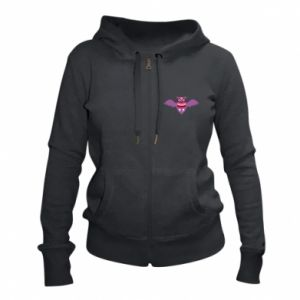 Women's zip up hoodies Owl bright color