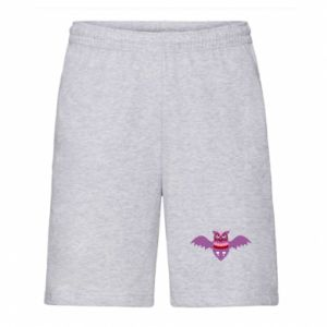 Men's shorts Owl bright color - PrintSalon