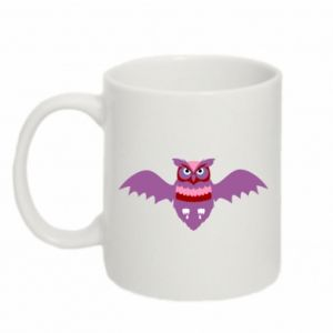 Mug 330ml Owl bright color - PrintSalon