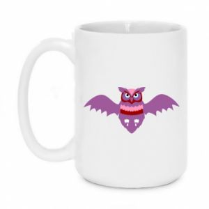 Mug 450ml Owl bright color - PrintSalon