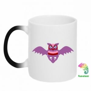 Chameleon mugs Owl bright color