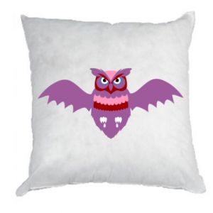 Pillow Owl bright color