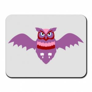 Mouse pad Owl bright color - PrintSalon