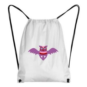 Backpack-bag Owl bright color