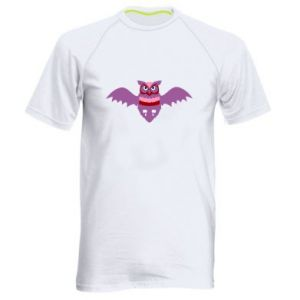 Men's sports t-shirt Owl bright color - PrintSalon
