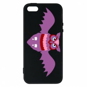 Phone case for iPhone 5/5S/SE Owl bright color - PrintSalon