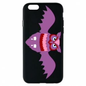 Phone case for iPhone 6/6S Owl bright color - PrintSalon