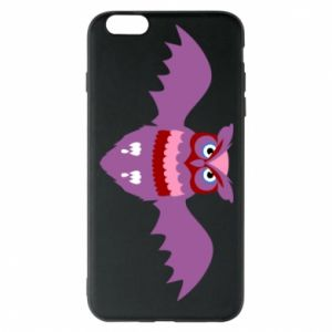 Phone case for iPhone 6 Plus/6S Plus Owl bright color - PrintSalon