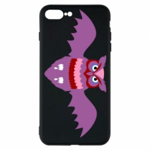 Phone case for iPhone 7 Plus Owl bright color - PrintSalon