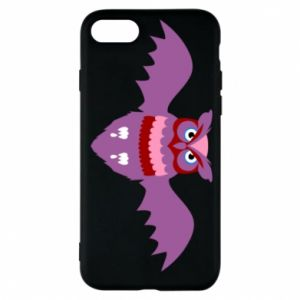 Phone case for iPhone 8 Owl bright color